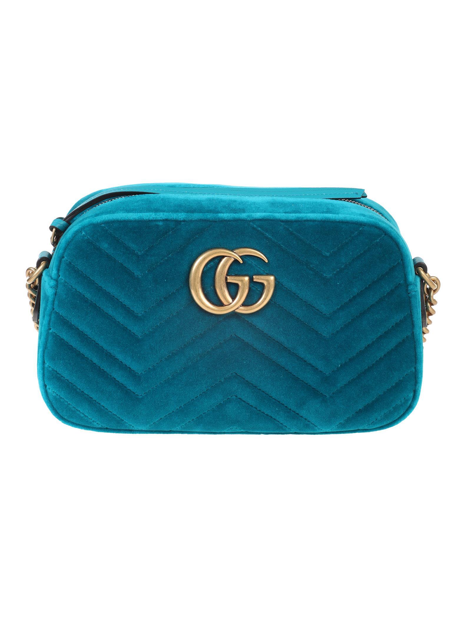 335d620a826 Gucci Gucci small shoulder bag GG Marmont - Verde - 10818728