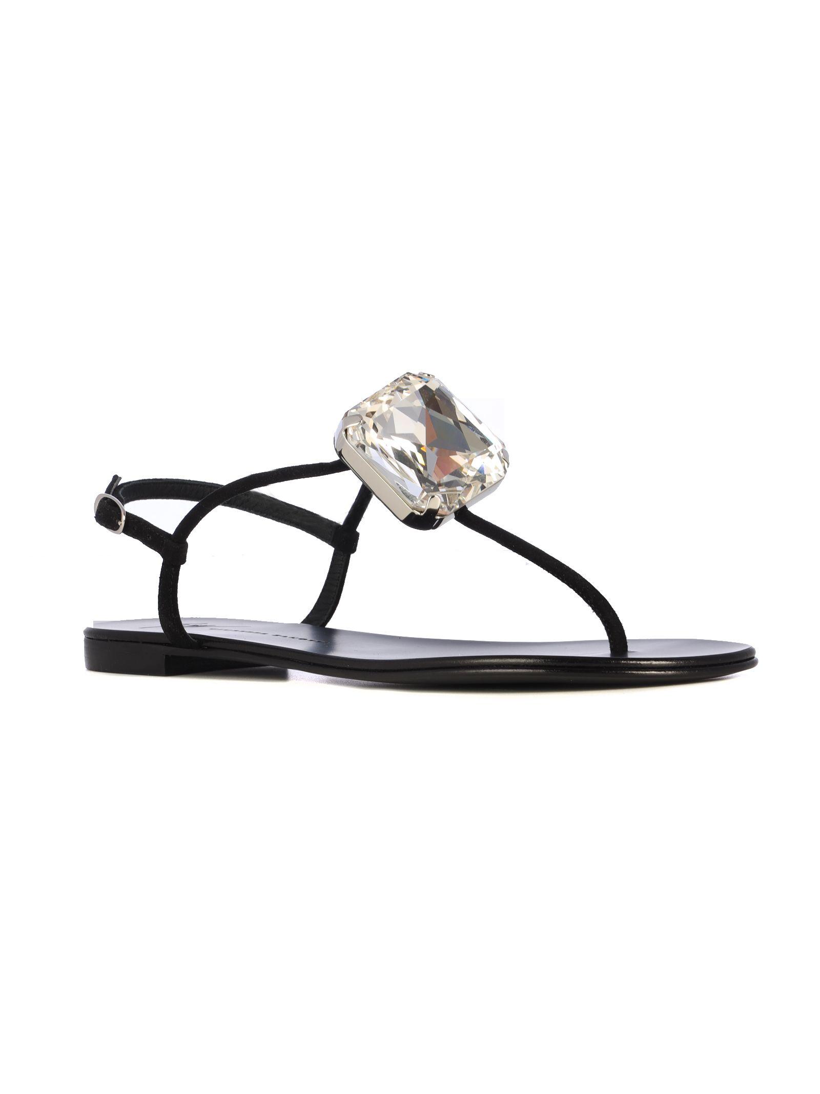 Giuseppe Zanotti Sandals Giuseppe Zanotti Crystal Embellished Sandals