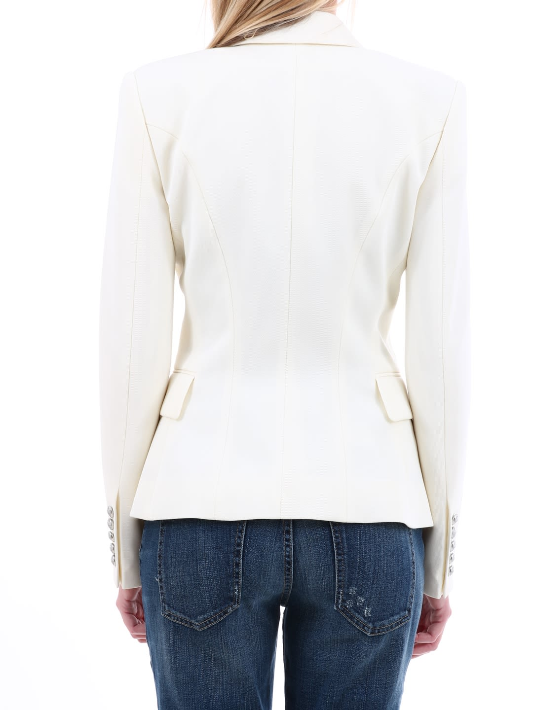32d9dfa1 Balmain Balmain White Cotton Blazer - White - 10910803   italist