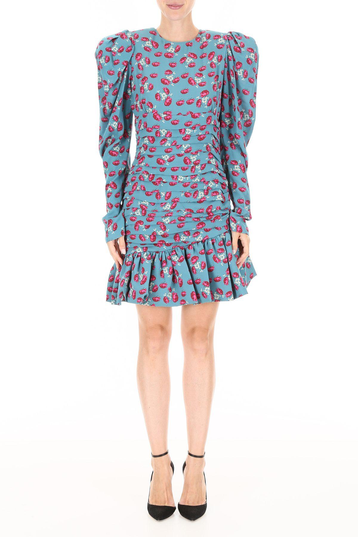 ad81c01dc430 Magda Butrym Magda Butrym Borneo Mini Dress - GREEN (Light blue ...