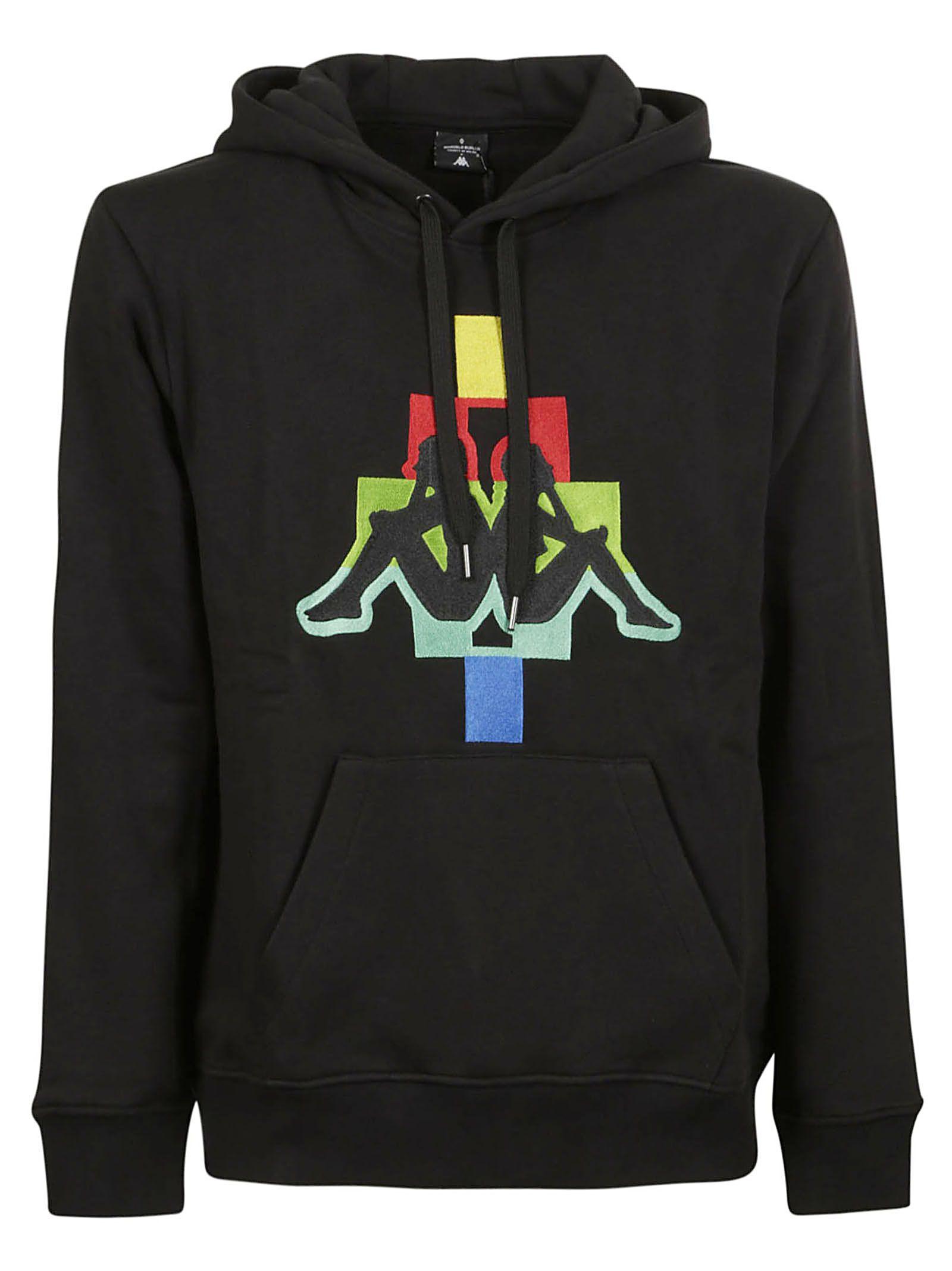 6e250a527f02 Marcelo Burlon Kappa Logo Hoodie - Black multicolor ...