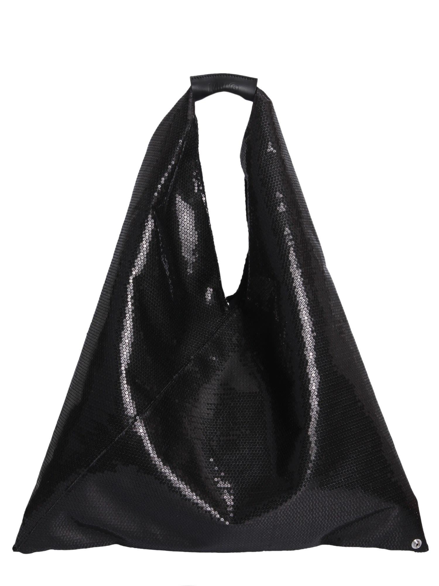8d133f32588e MM6 Maison Margiela MM6 Maison Margiela Japanese Tote Bag - Black ...