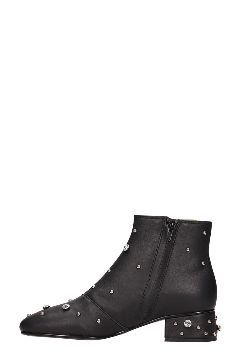 37d76b97e2f1a See by Chloé See by Chloé Black Leather Abby Ankle Boot - Black ...
