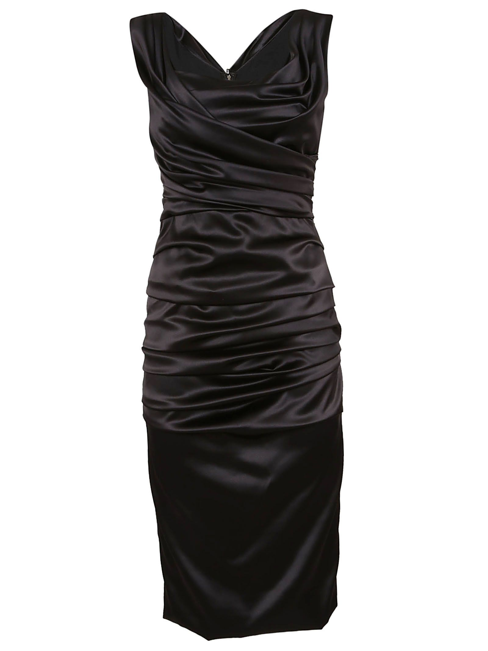 a7c43f0eeba9d0 Dolce   Gabbana Dolce   Gabbana Pencil Dress - BLACK - 10838185 ...