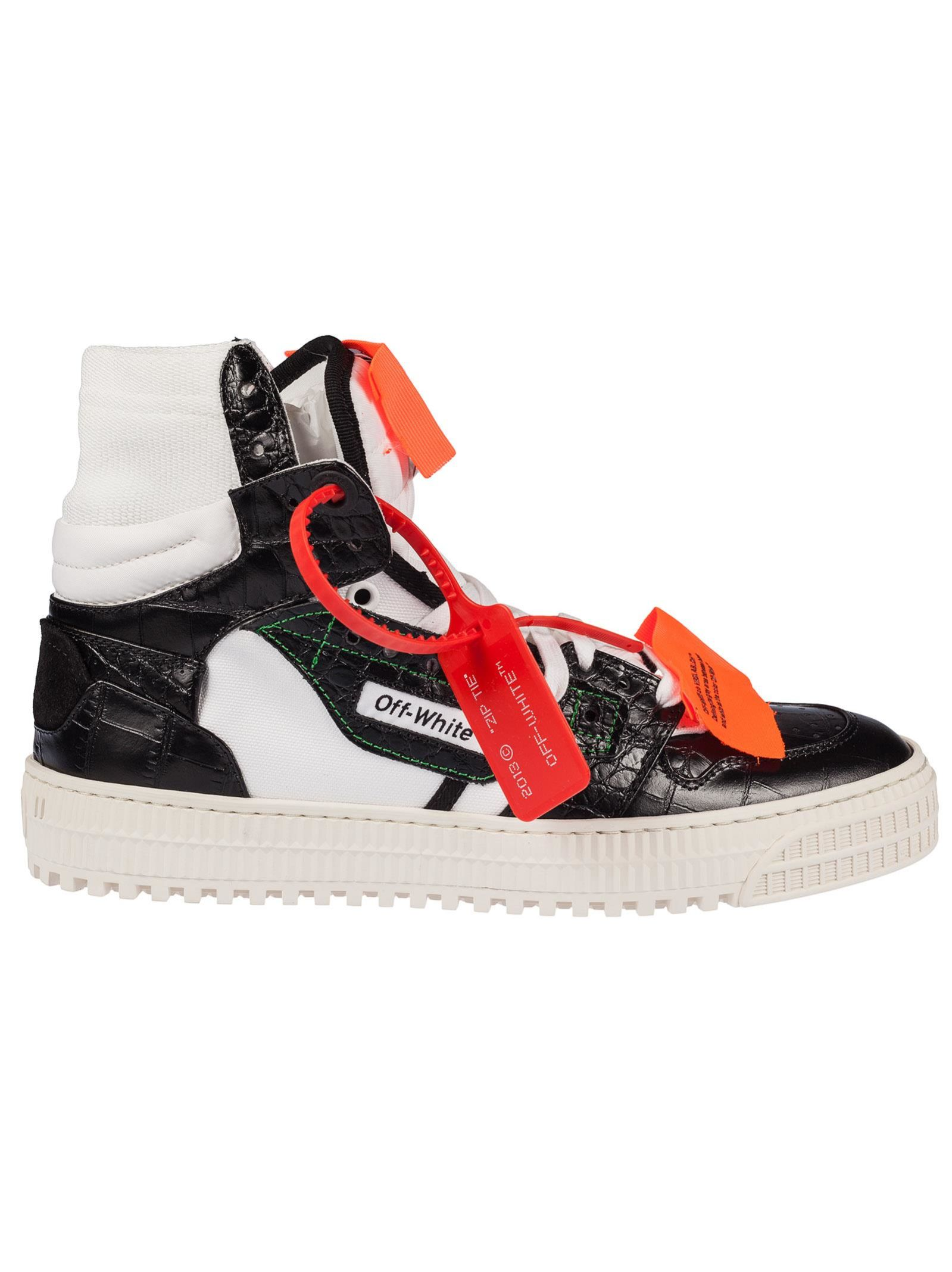 0d278e0f1ace Off-White Off Court 3.0 Hi-top Sneakers - Black ...