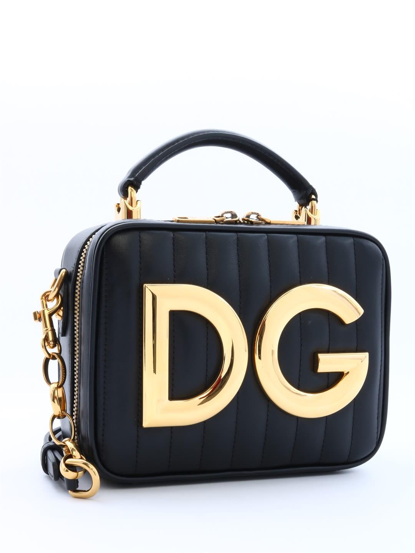 42c724d2ad2d Dolce & Gabbana Dolce & Gabbana Bag Dg Girls Black - Black ...