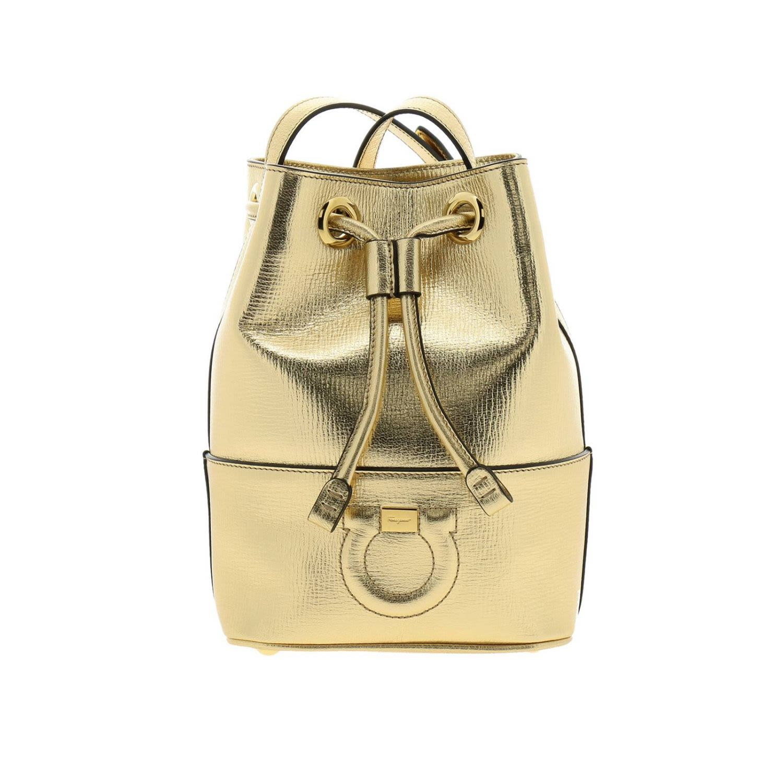 Salvatore Ferragamo Crossbody Bags Shoulder Bag Women Salvatore Ferragamo -  gold ... 034e69adc20d4