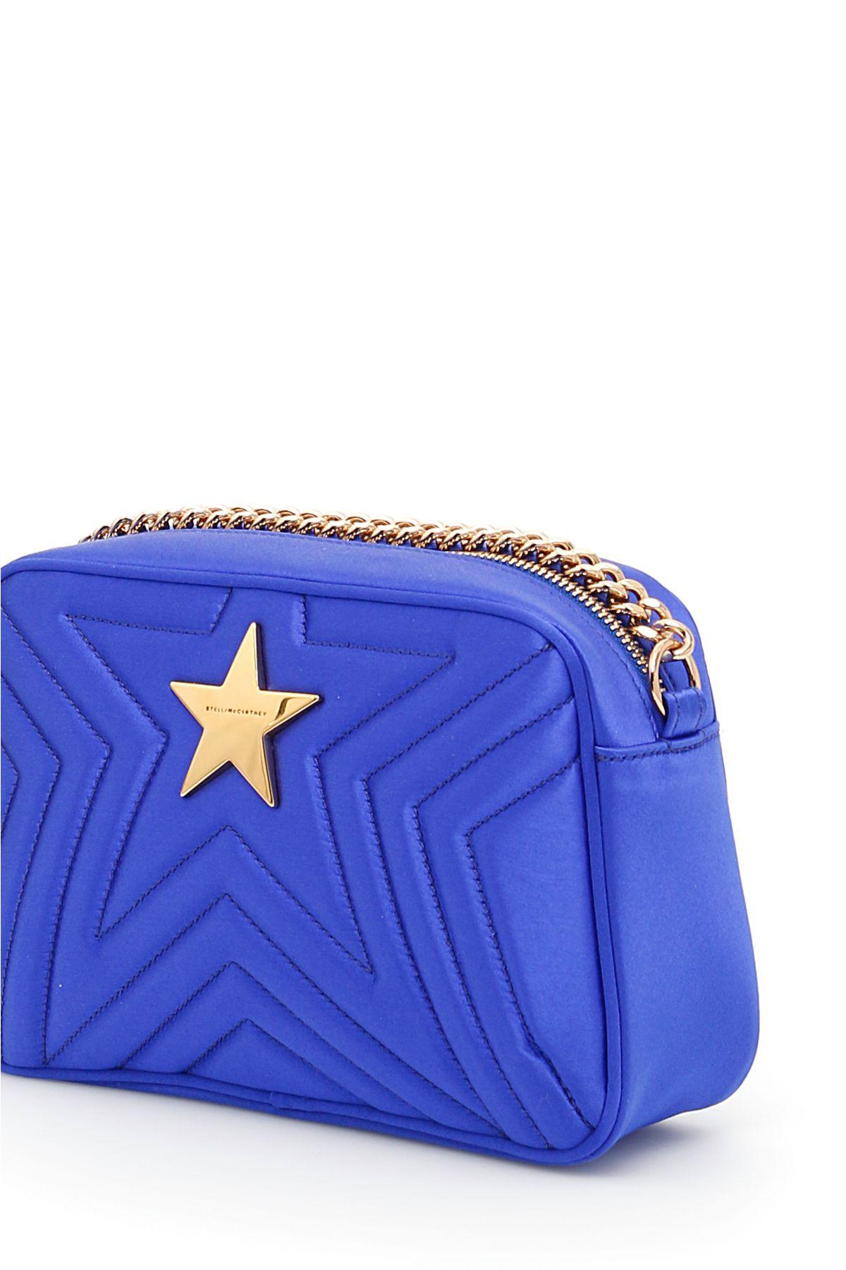 5ac11fbcca3d Stella McCartney Stella McCartney Quilted Satin Stella Star Bag ...