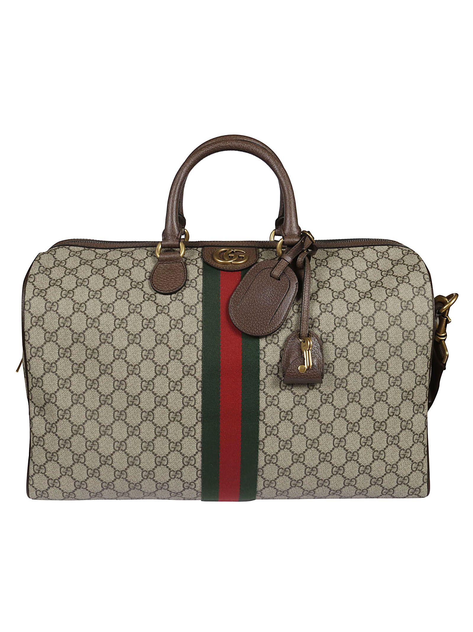 acdcc1f578d1 Gucci Gucci Ophidia Gg Medium Duffle Bag - ebony - 10930836 | italist