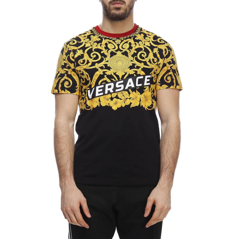 b8b2ce000643 Versace Versace T-shirt T-shirt Men Versace - black - 10783138