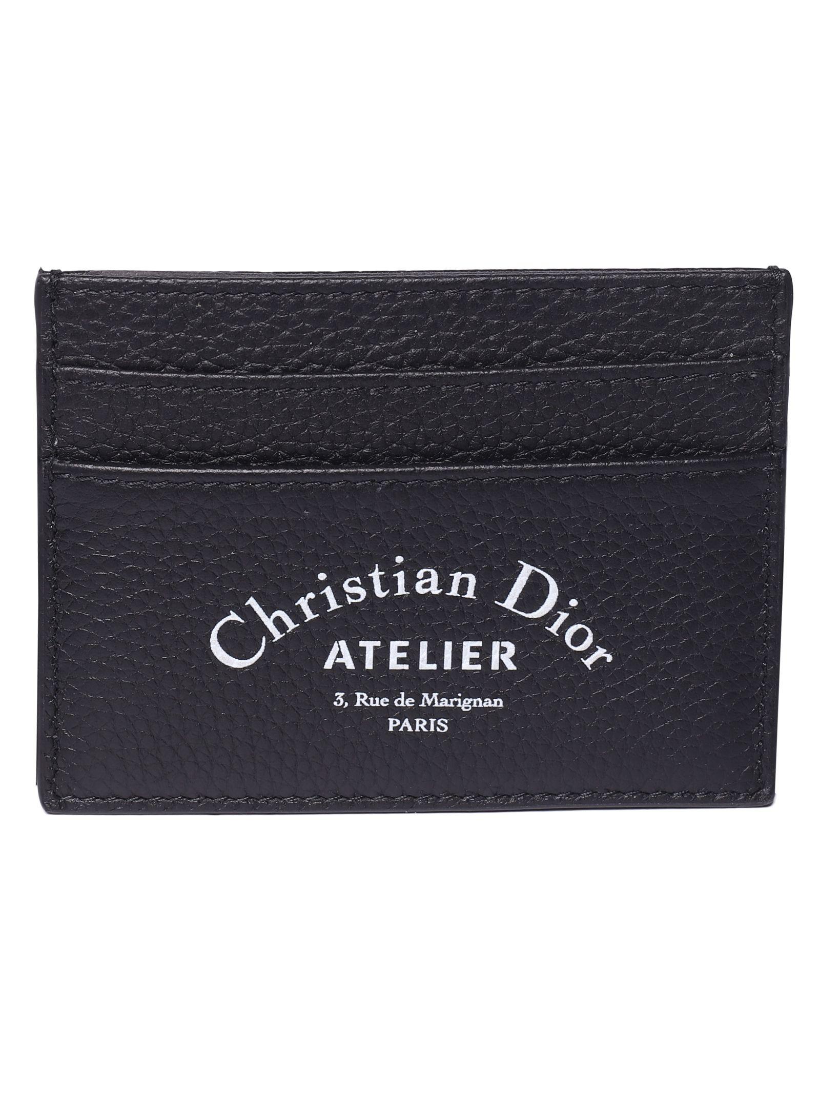 803f06ea Dior Dior Homme Logo Cardholder - Black multi - 10930407 | italist