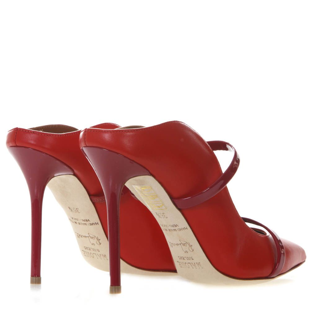 f9aac14f6128 Malone Souliers Malone Souliers Maureen Red Leather Pumps - Red ...