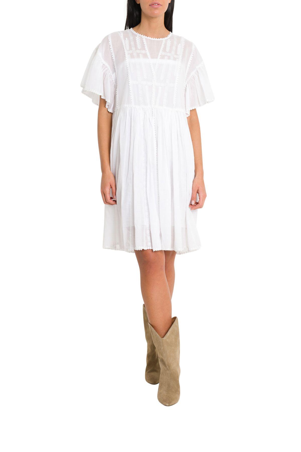 f6a4db1e282 Isabel Marant Étoile Isabel Marant Étoile Amelie Dress - Bianco ...