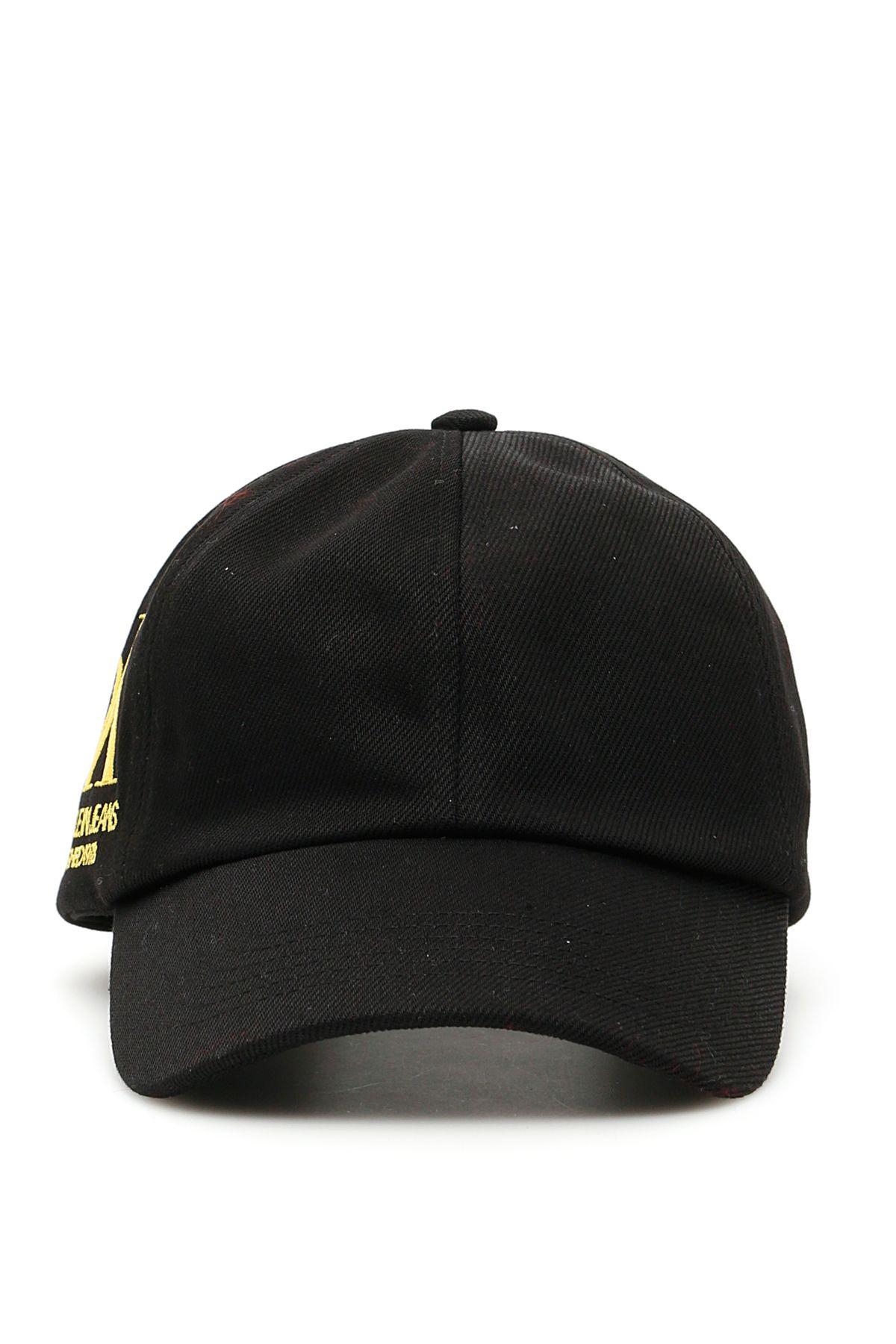 80752a7b Calvin Klein Calvin Klein Ok Logo Baseball Cap - BLACK YELLOW OK ...