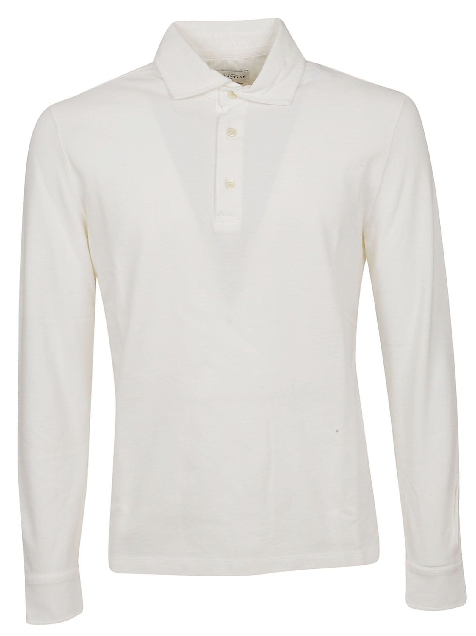 3f24ec666 Ballantyne Ballantyne Long-sleeved Polo Shirt - 10850146
