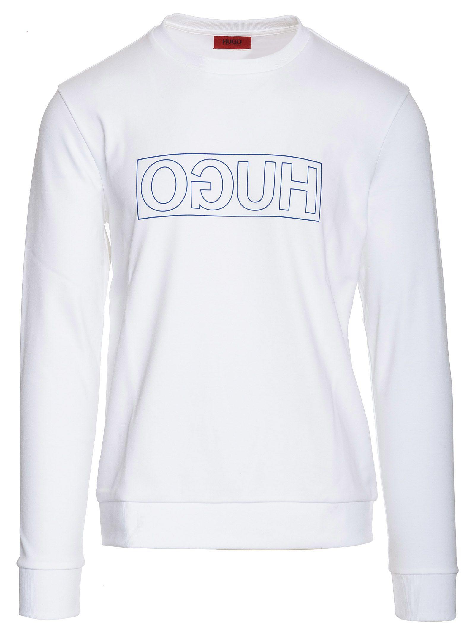 17e78a9bb Hugo Boss Hugo Dicago-u6 Sweatshirt - White - 10825270 | italist