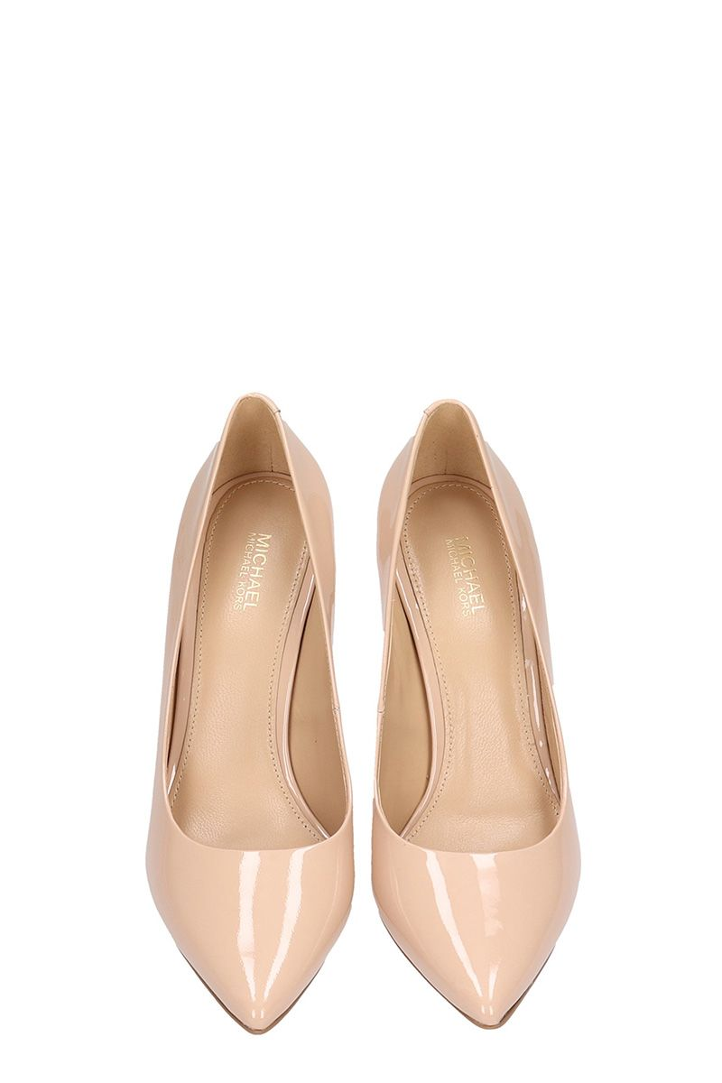365a5b2a3aa0 Michael Kors Michael Kors Claire Patent Leather Pumps - powder ...