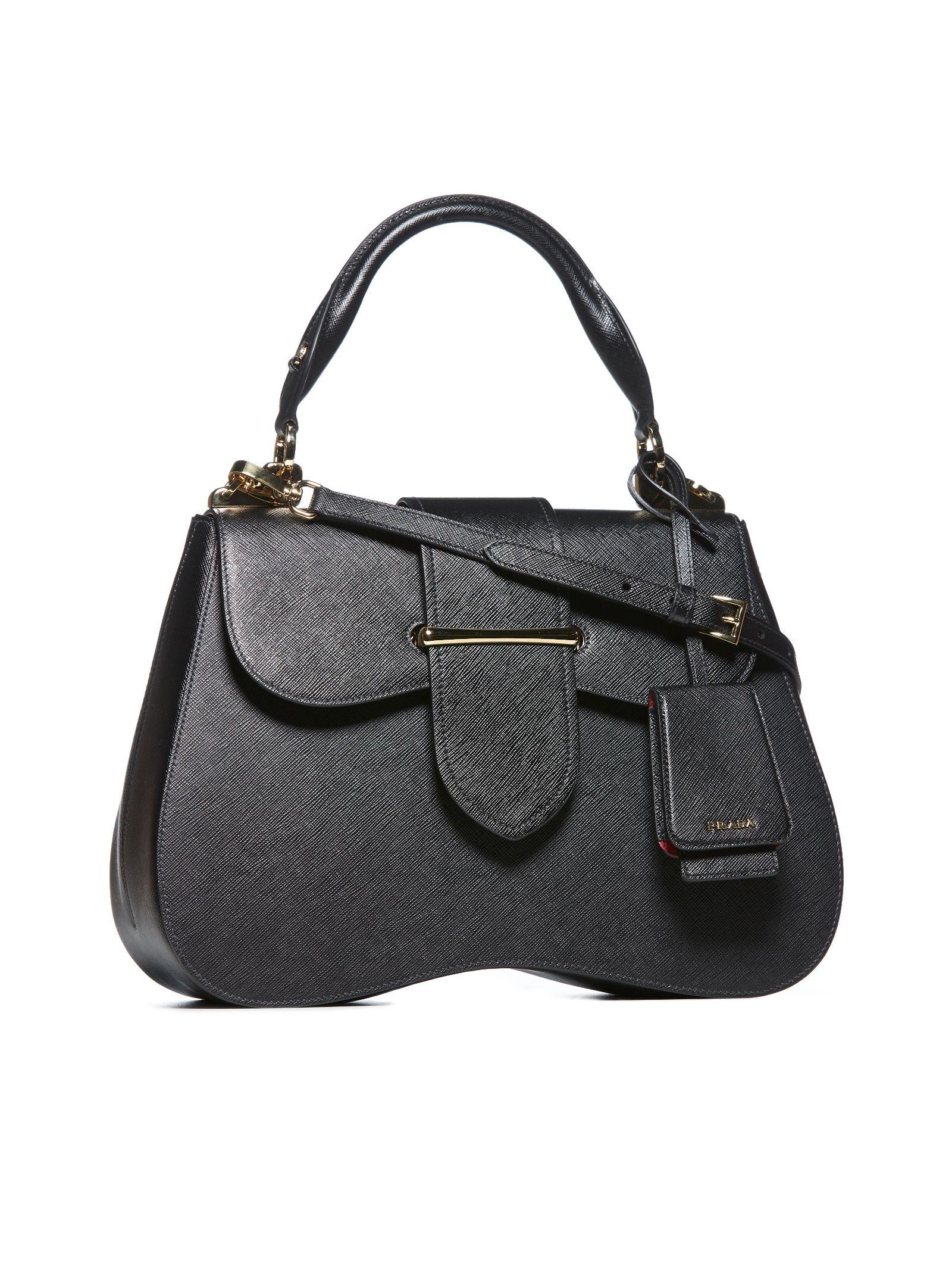 644ae97daf73 Prada Saffiano Shoulder Bag - Nero Prada Saffiano Shoulder Bag - Nero ...