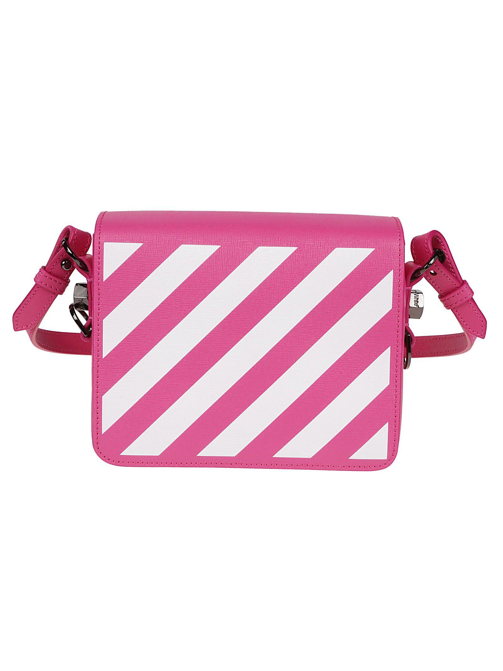 34ab82919a Off-White Off-white Striped Shoulder Bag - Basic - 10805283
