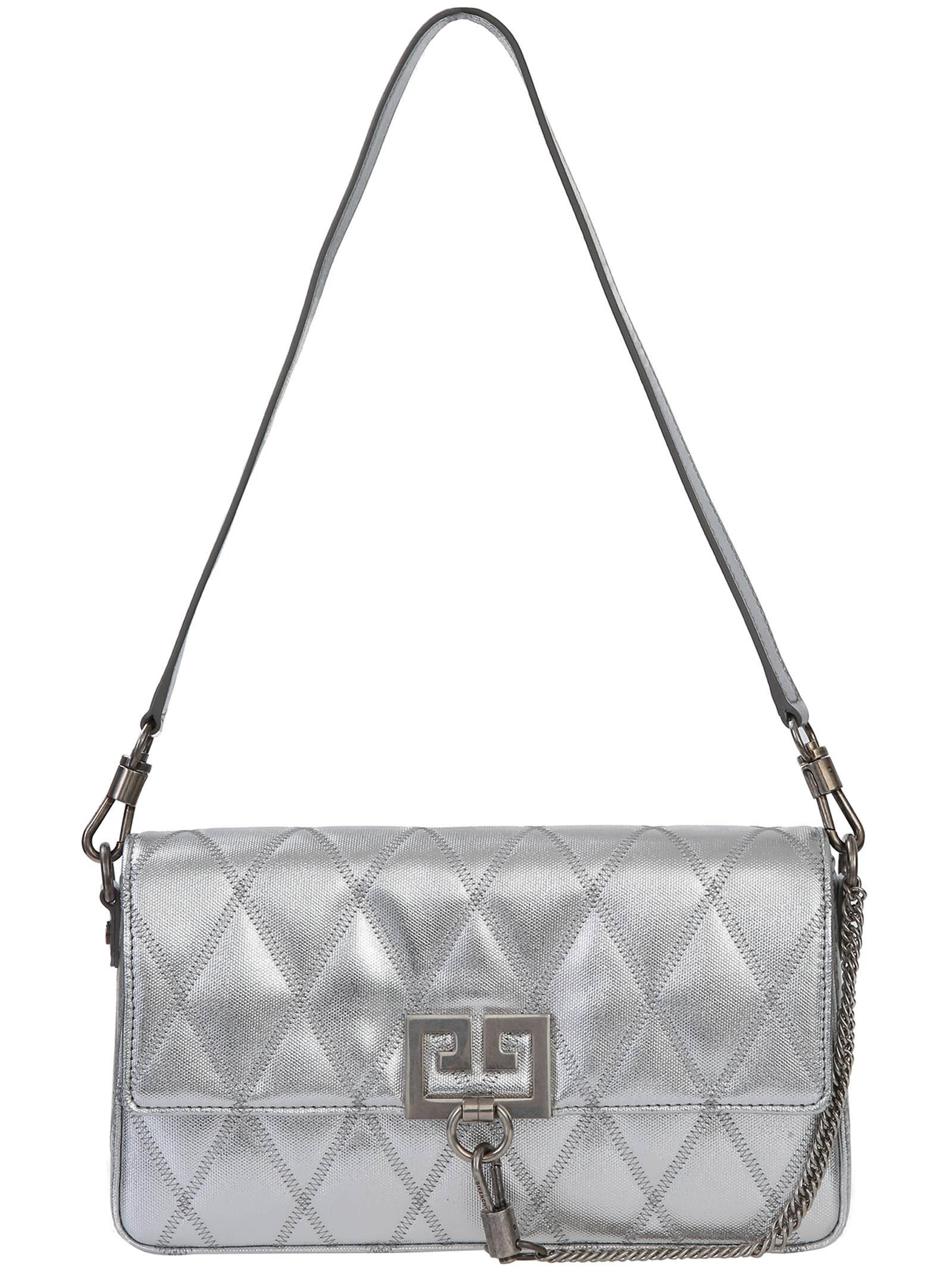 64973eacdebf Givenchy Givenchy Shoulder Bag - Silver - 10928489