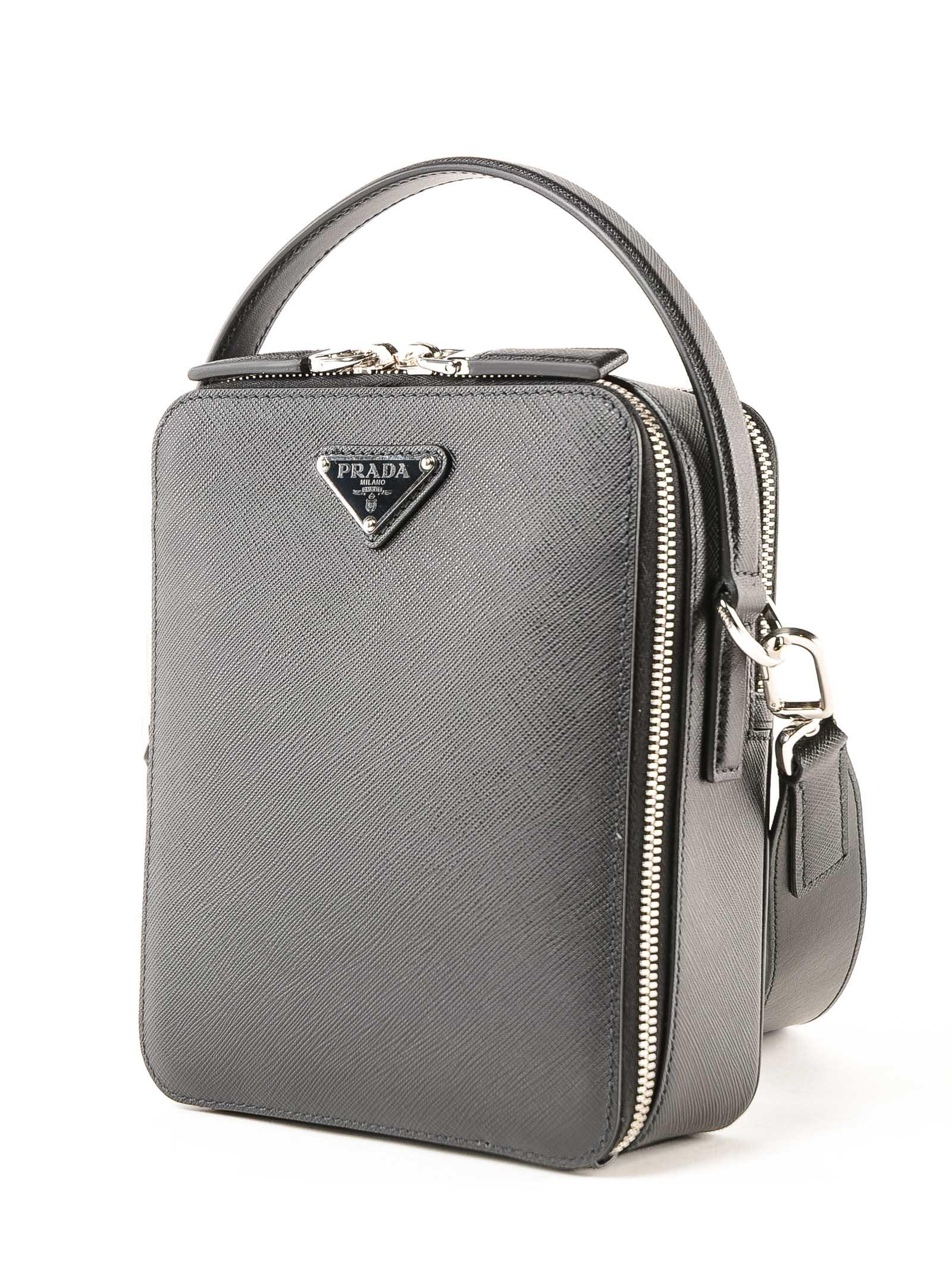 5278002e05e557 Prada Prada Prada Travel Shoulder Bag - Nero - 10783477 | italist