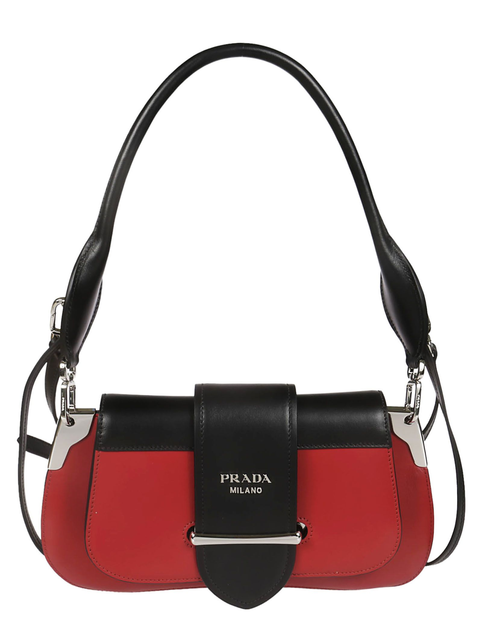 c11fd7bda3ab Prada Prada Sidonie Shoulder Bag - Red - 10831047 | italist