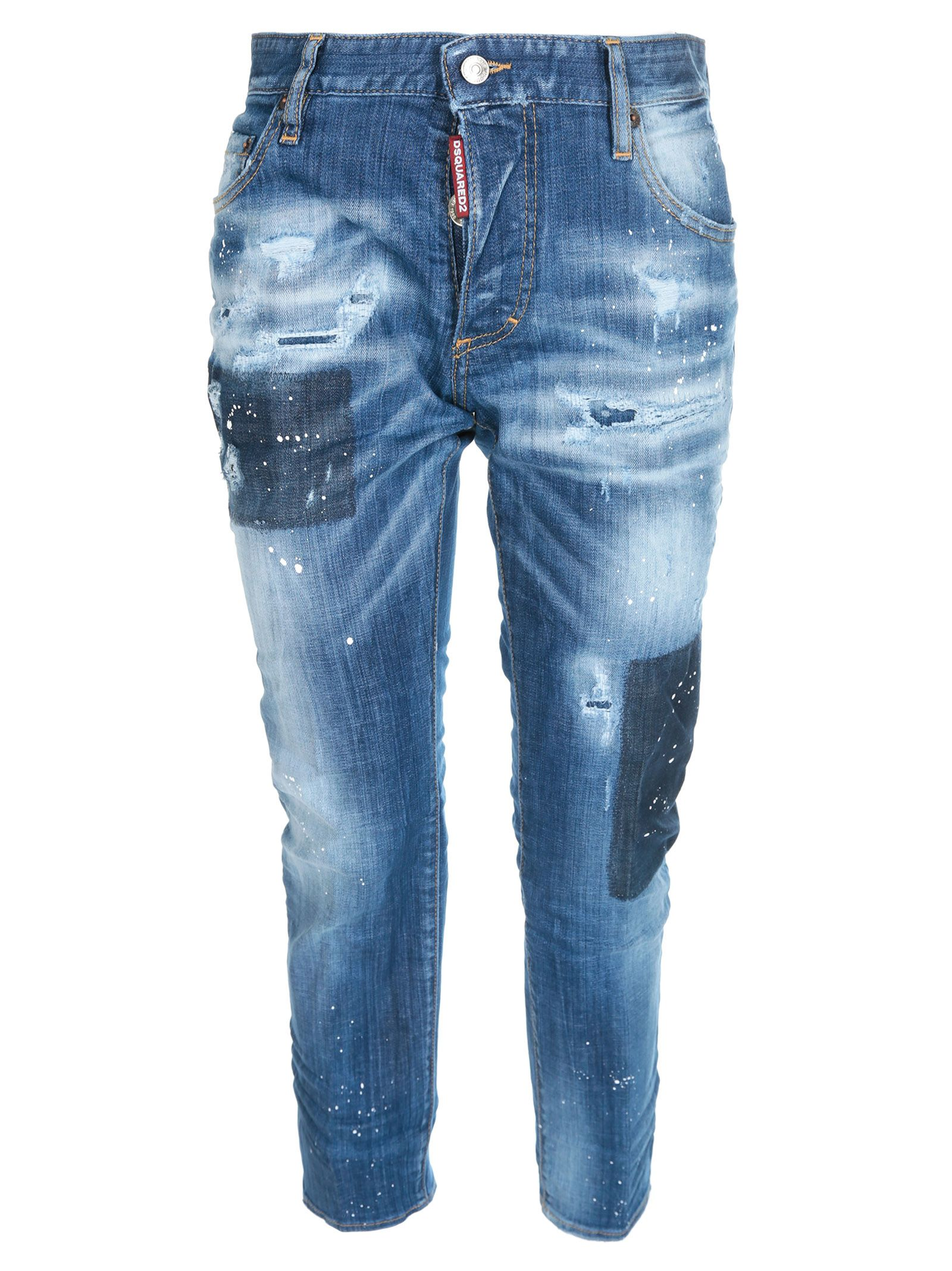 caffd5ead8 Dsquared2 Dsquared2 Distressed Jeans - Basic - 10836579