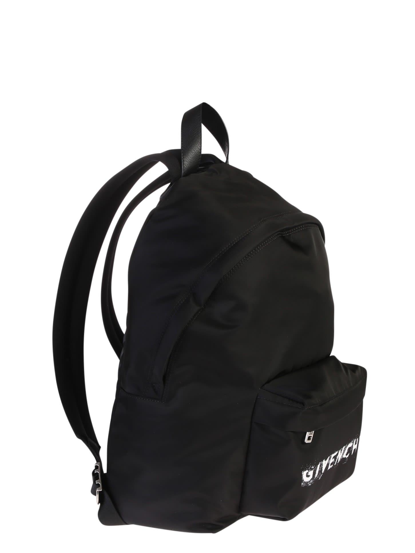 Givenchy Branded Backpack - Black Givenchy Branded Backpack - Black ... b7561253ba256