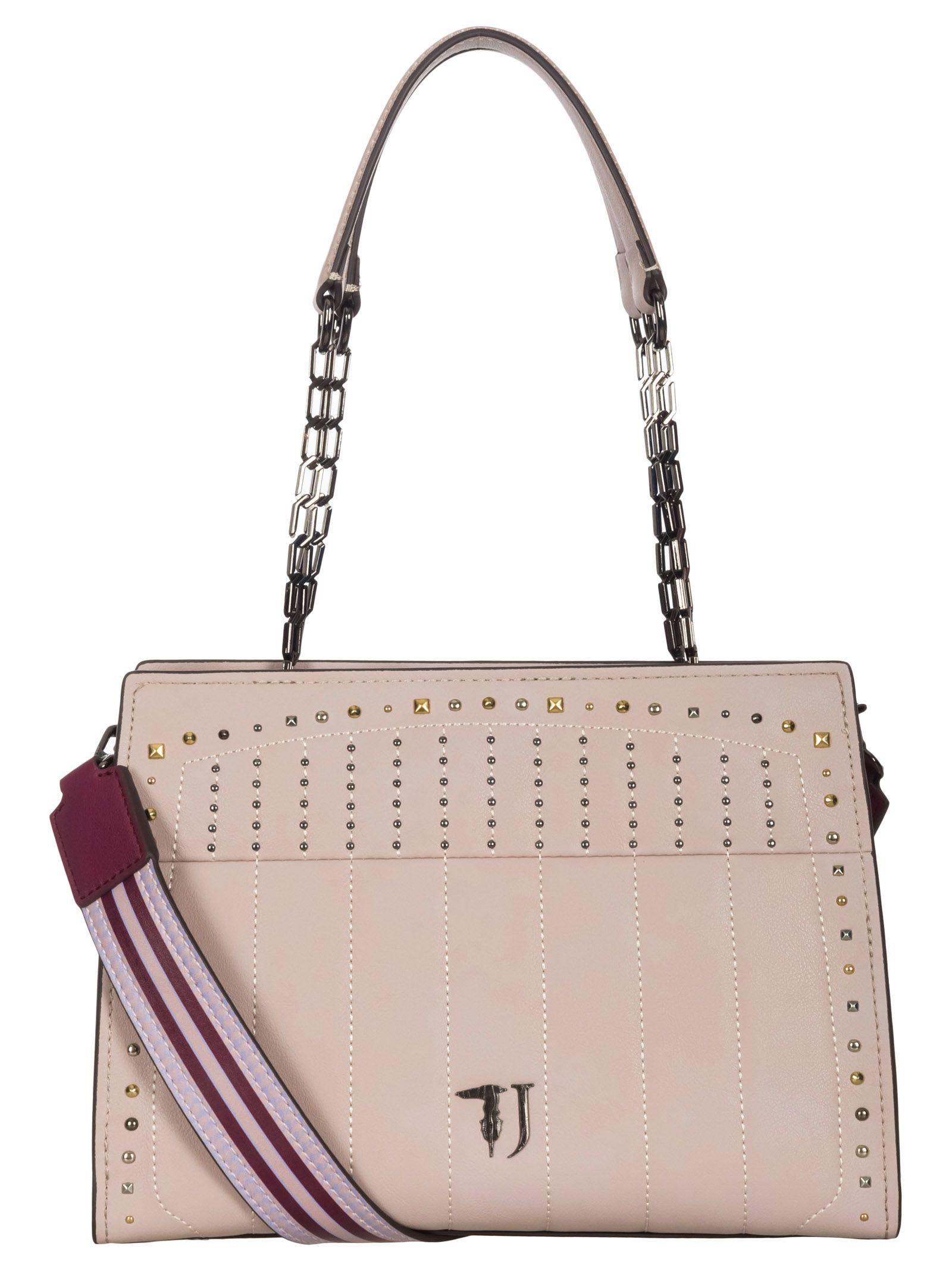 Trussardi Jeans Trussardi Jeans Curcuma Shoulder Bag - Pink ... 1b12d7ef60dc5