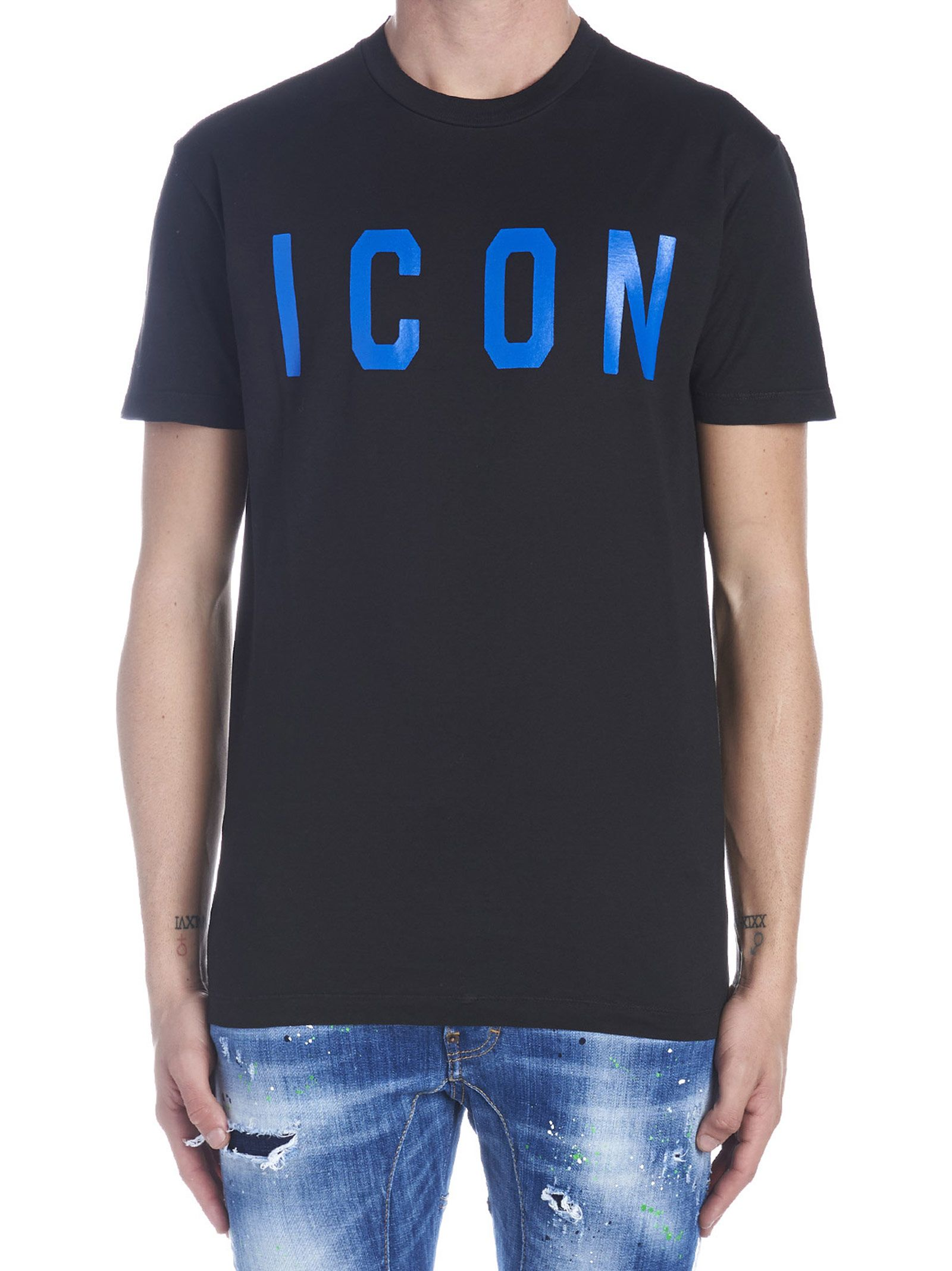 8fee55f7b0393b Dsquared2 Dsquared2 'icon' T-shirt - Black - 10946005 | italist