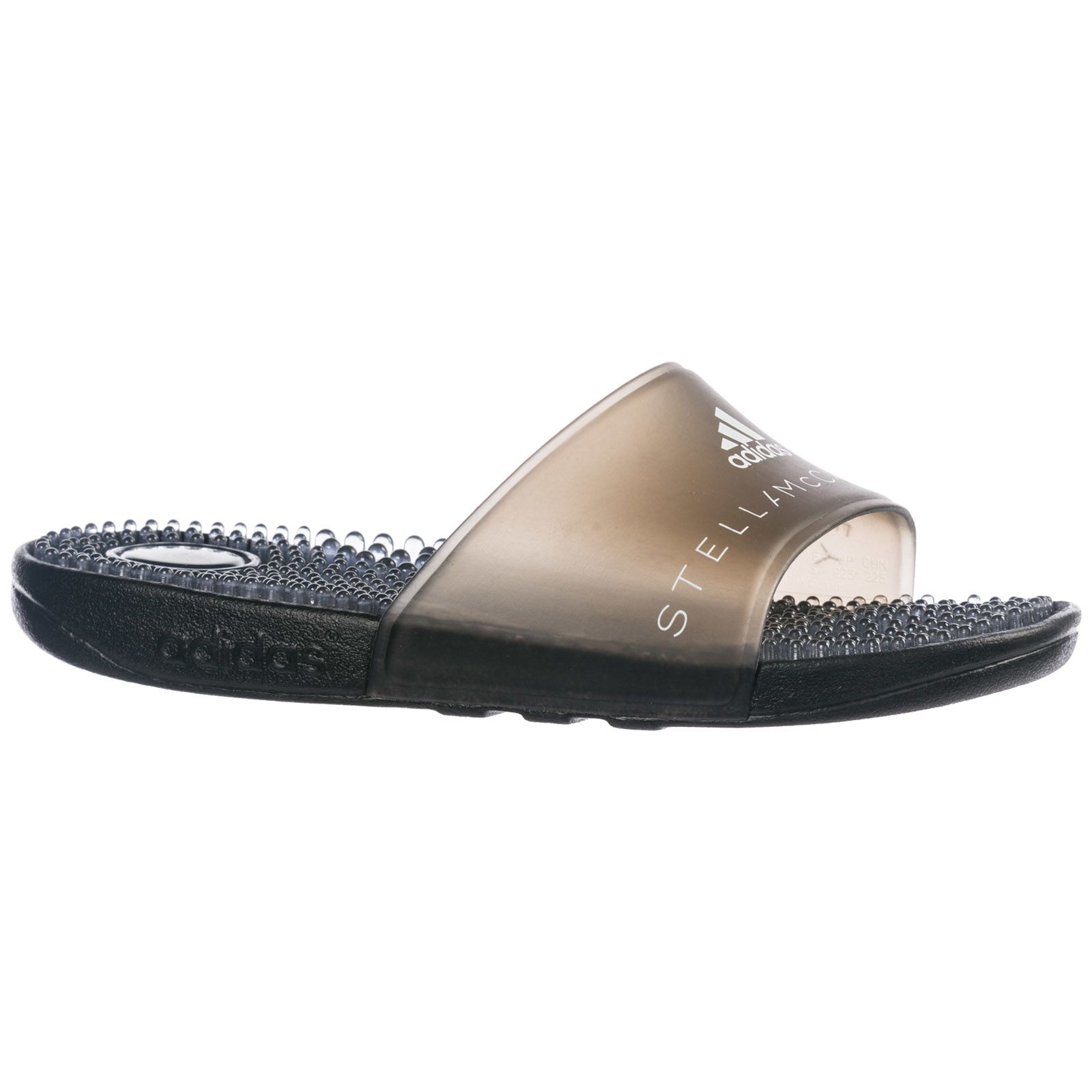 af30124ce326 ... Adidas by Stella McCartney Rubber Slippers Sandals Adissage - Nero ...