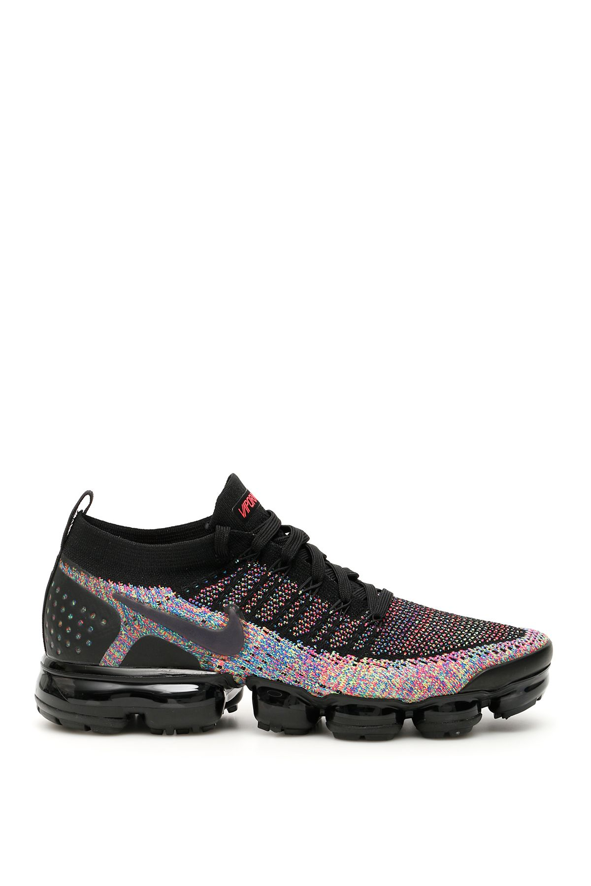 4a53127f919 Nike Nike Air Vapormax Flyknit 2 Sneakers - BLACK RACER PINK RACER ...