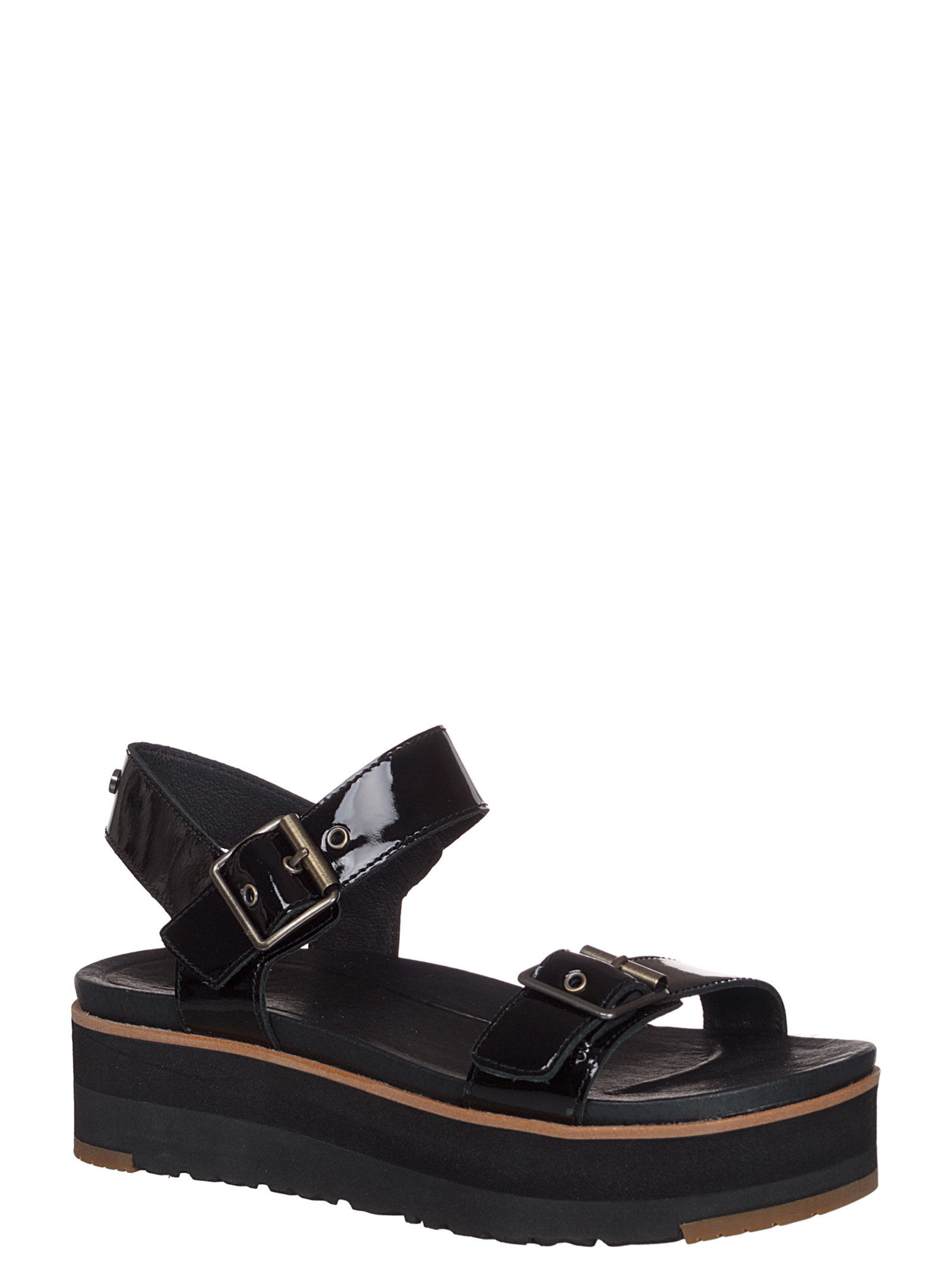 76c4bd34ec73 UGG Angie Sandals - Black UGG Angie Sandals - Black ...