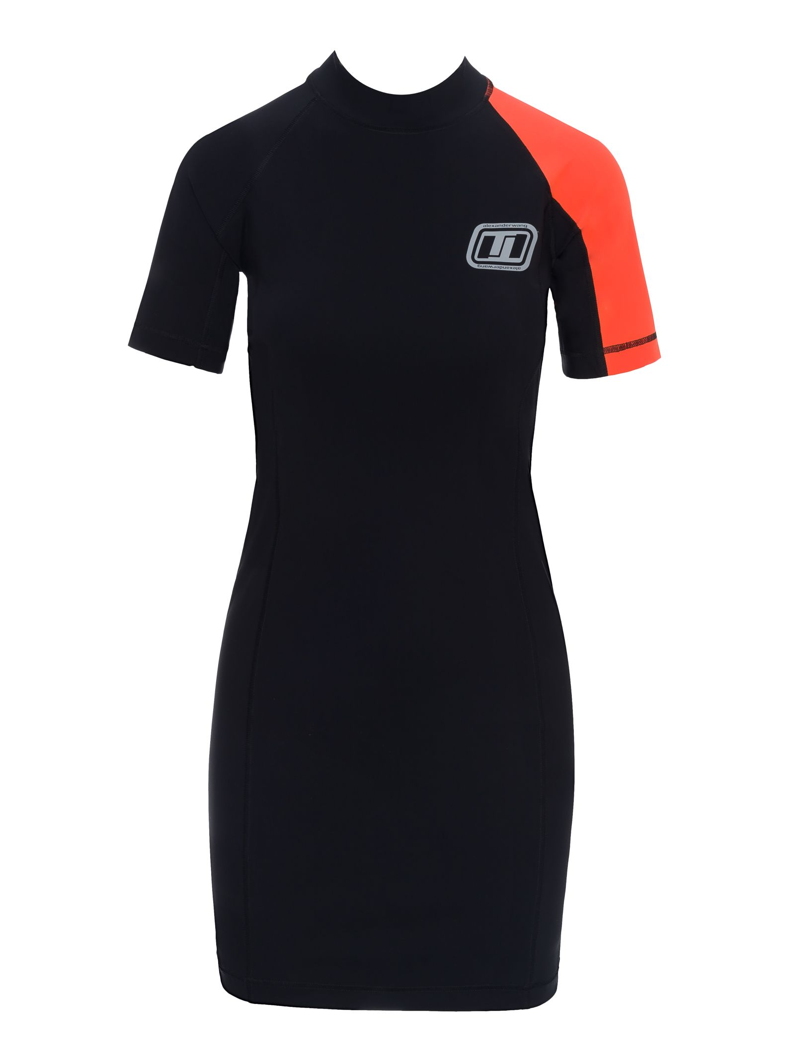 T By Alexander Wang T By Alexander Wang Dress Swim Black Orange