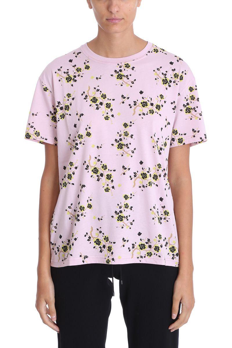 6c5925941 Kenzo Kenzo Cheongsam Flower T-shirt - rose-pink - 10697146 | italist