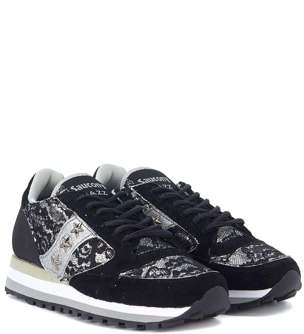 58565d0de29e ... Saucony Jazz Triple Black Suede And Lace Sneaker Limited Edition - Black  ...