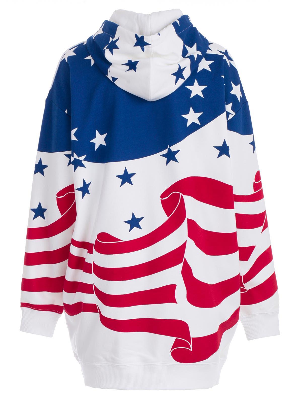 6426311a3b31 ... Calvin Klein Jeans Flag Print Hoodie Dress - Flag Aop Surf The Web ...