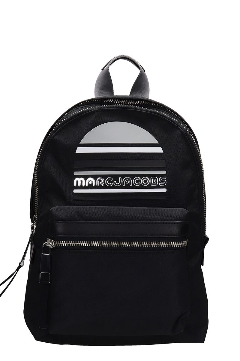 Marc Jacobs Marc Jacobs Trek Pack Medium Logo Backpack - black ... 324c8d960956a