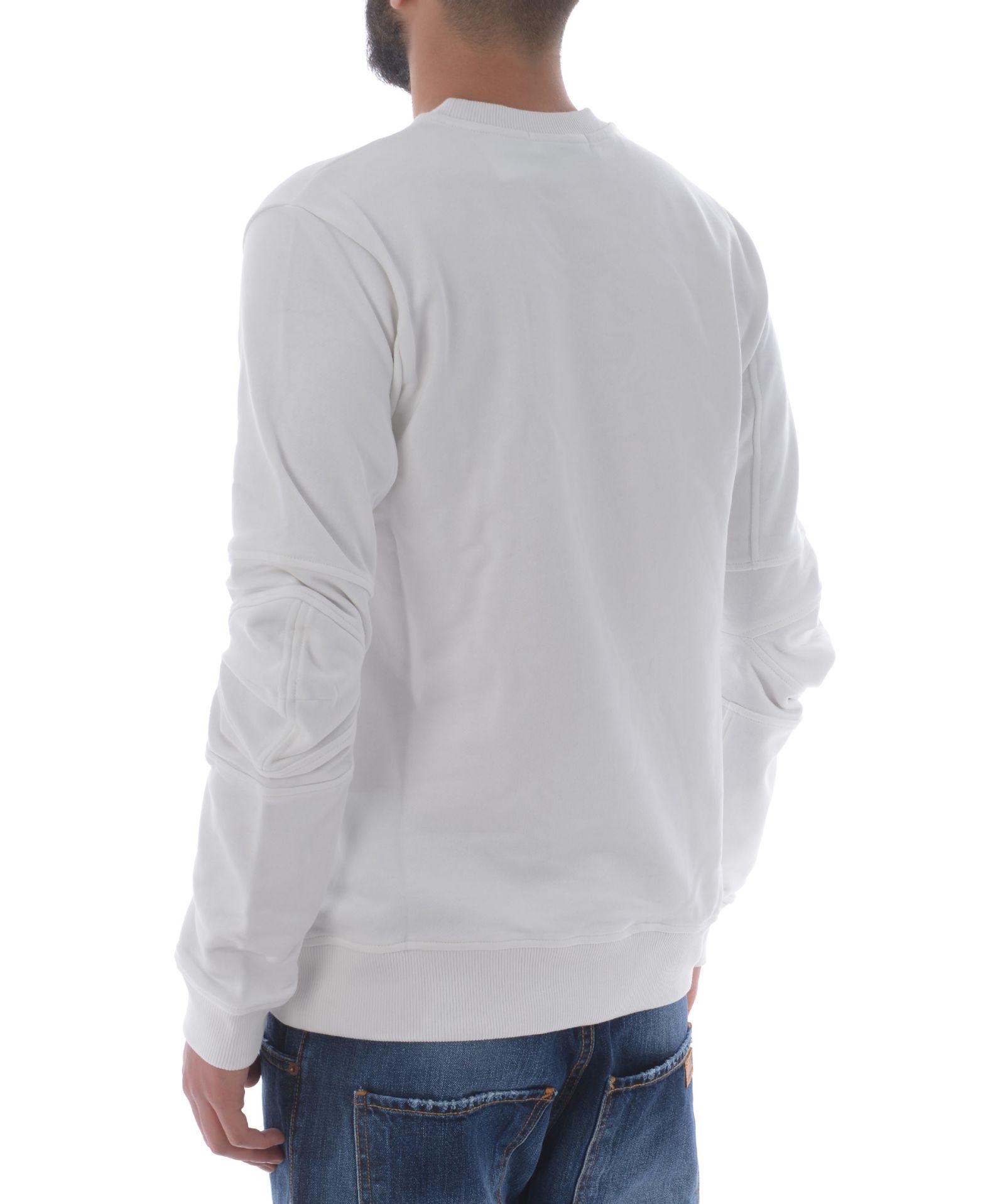 comme des gar ons comme des garcons classic sweatshirt bianco latte 10598275 italist. Black Bedroom Furniture Sets. Home Design Ideas