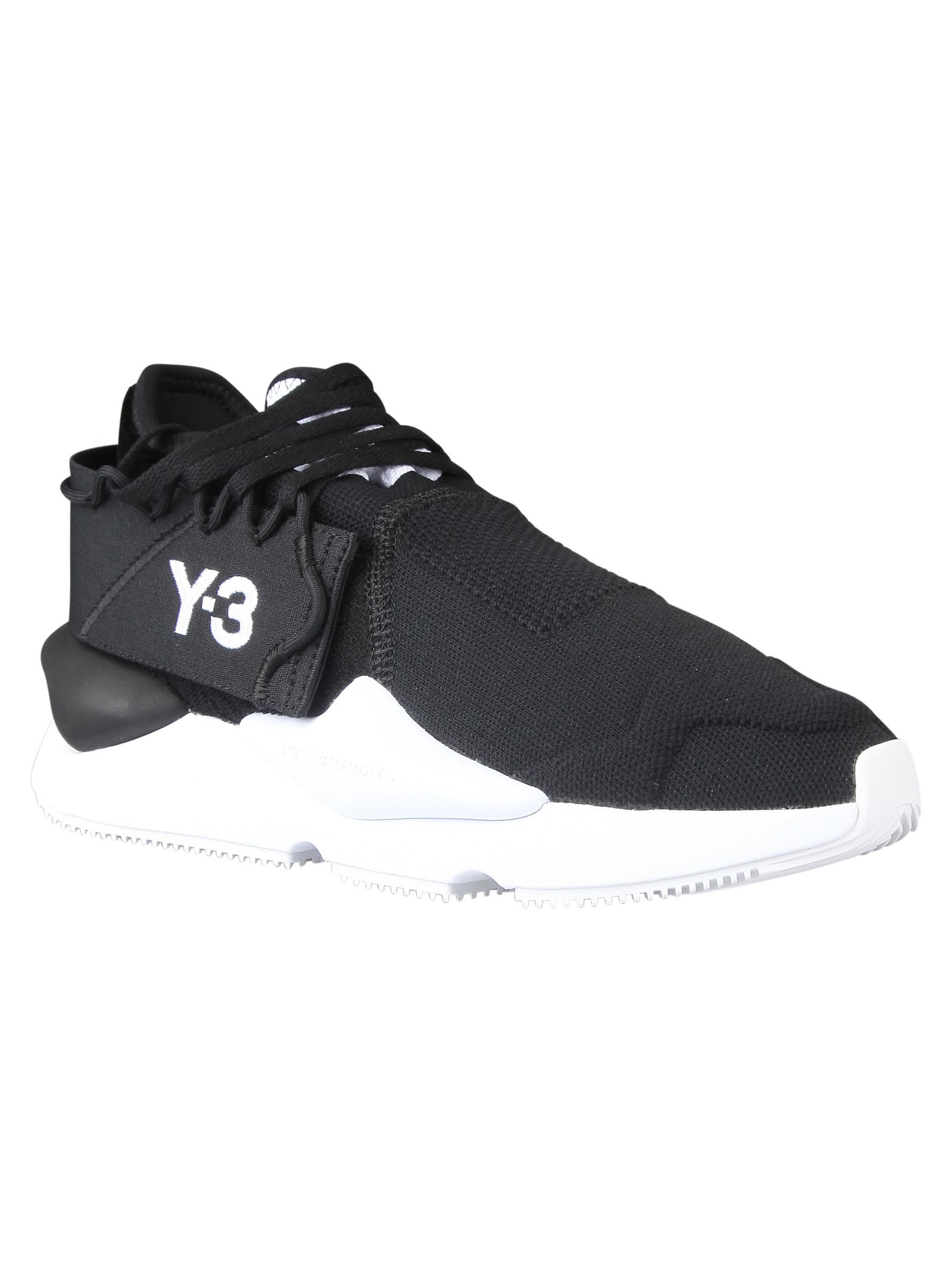 8cacc070b2035 Y-3 Y-3 Kaiwa Knit Sneakers - Core Black - 10835782