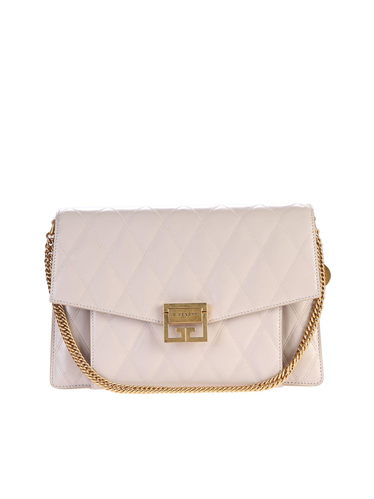 Givenchy Givenchy Medium Gv3 Bag - Beige - 10800303  5f09fb169d1dc