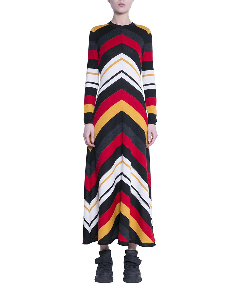 5f9fb3f78 italist | Best price in the market for MSGM MSGM Wool Blend Striped ...