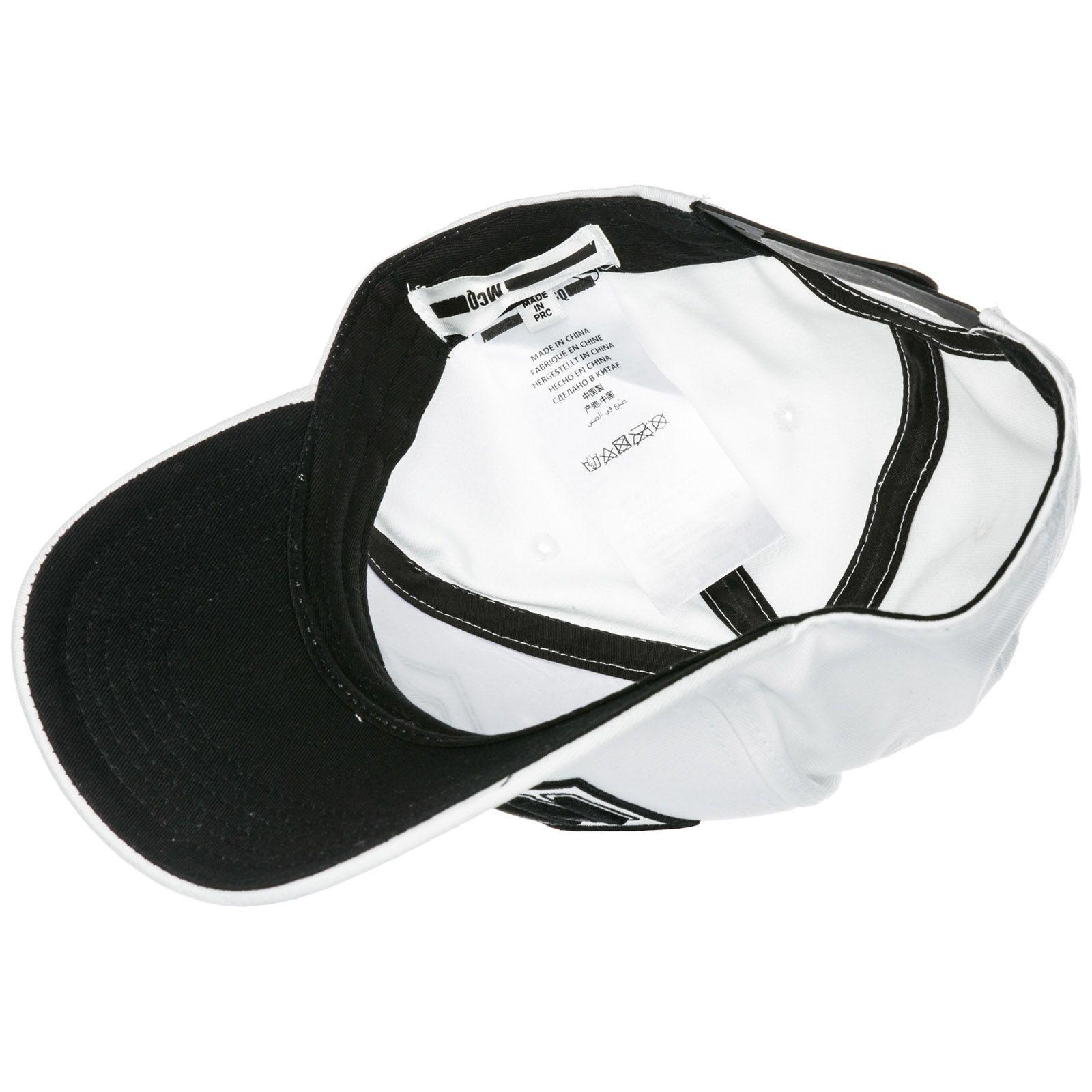 662a998aa021f ... McQ Alexander McQueen Adjustable Cotton Hat Baseball Cap Metal Logo -  White