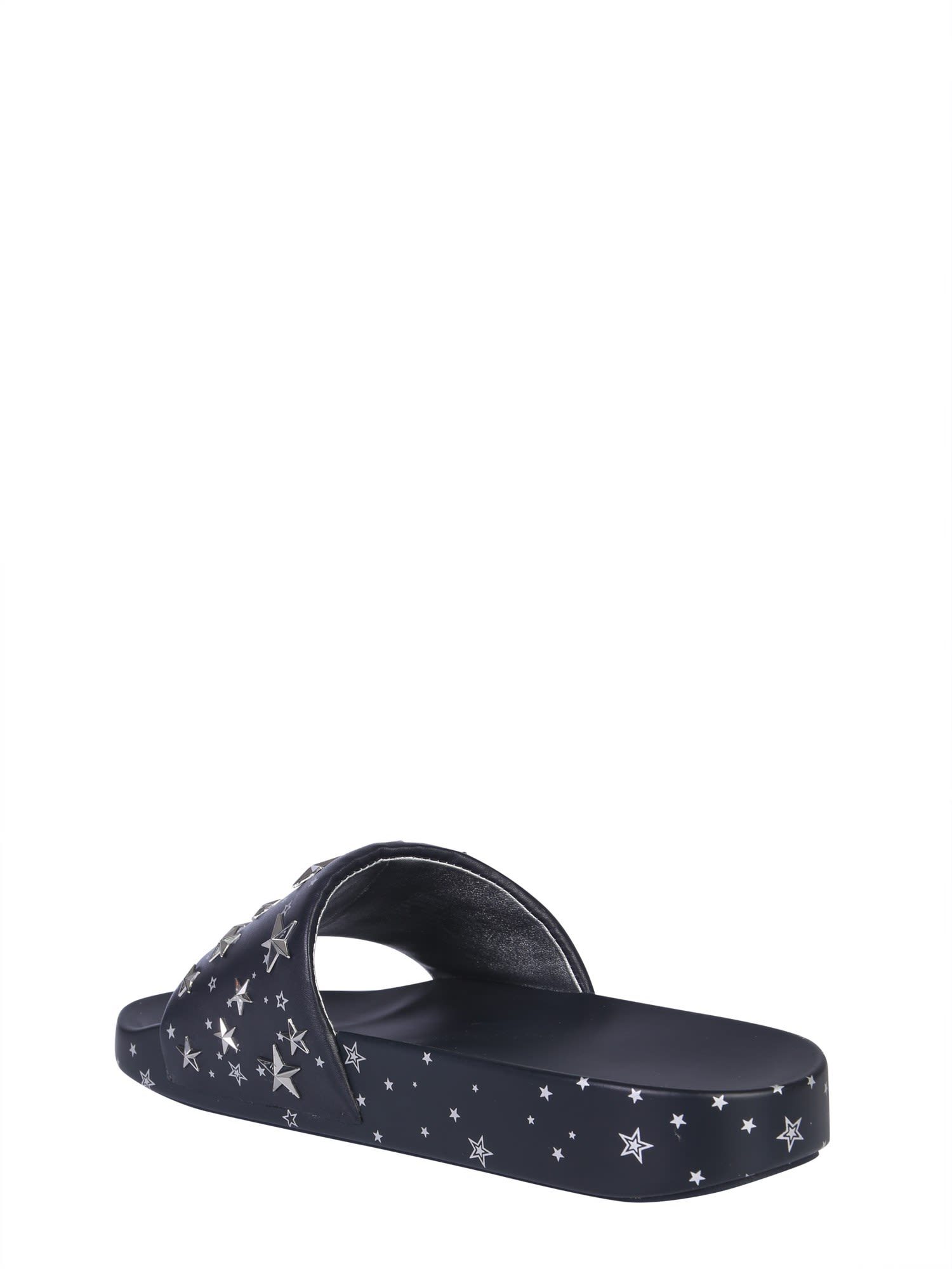 040dc3737 Tory Burch Tory Burch Slide Sandals With Stars - Blue - 10789792 ...