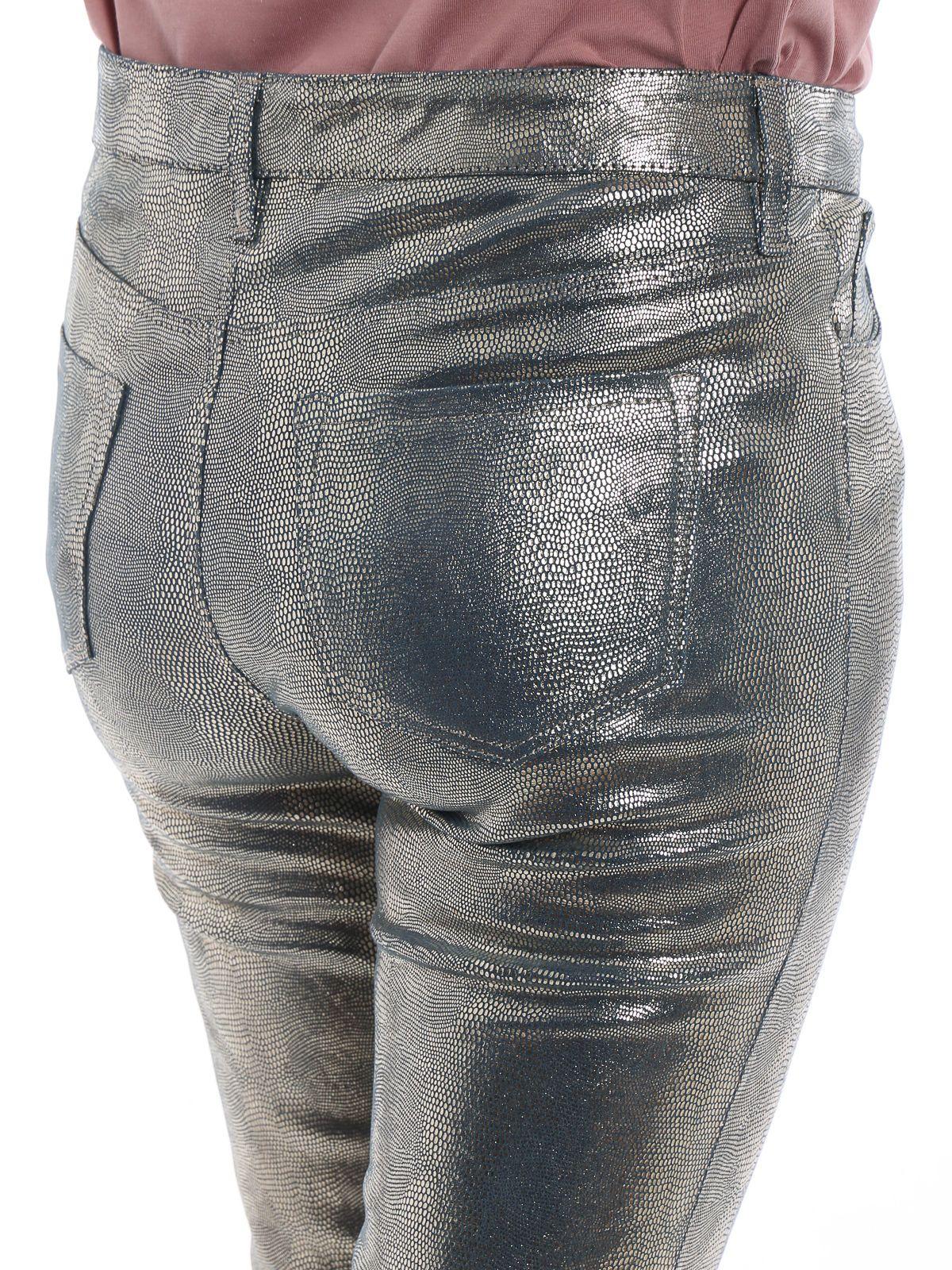 f7d6c38ed3b J Brand J Brand Selena Crop Jeans - Gold Snake - 10798966 | italist