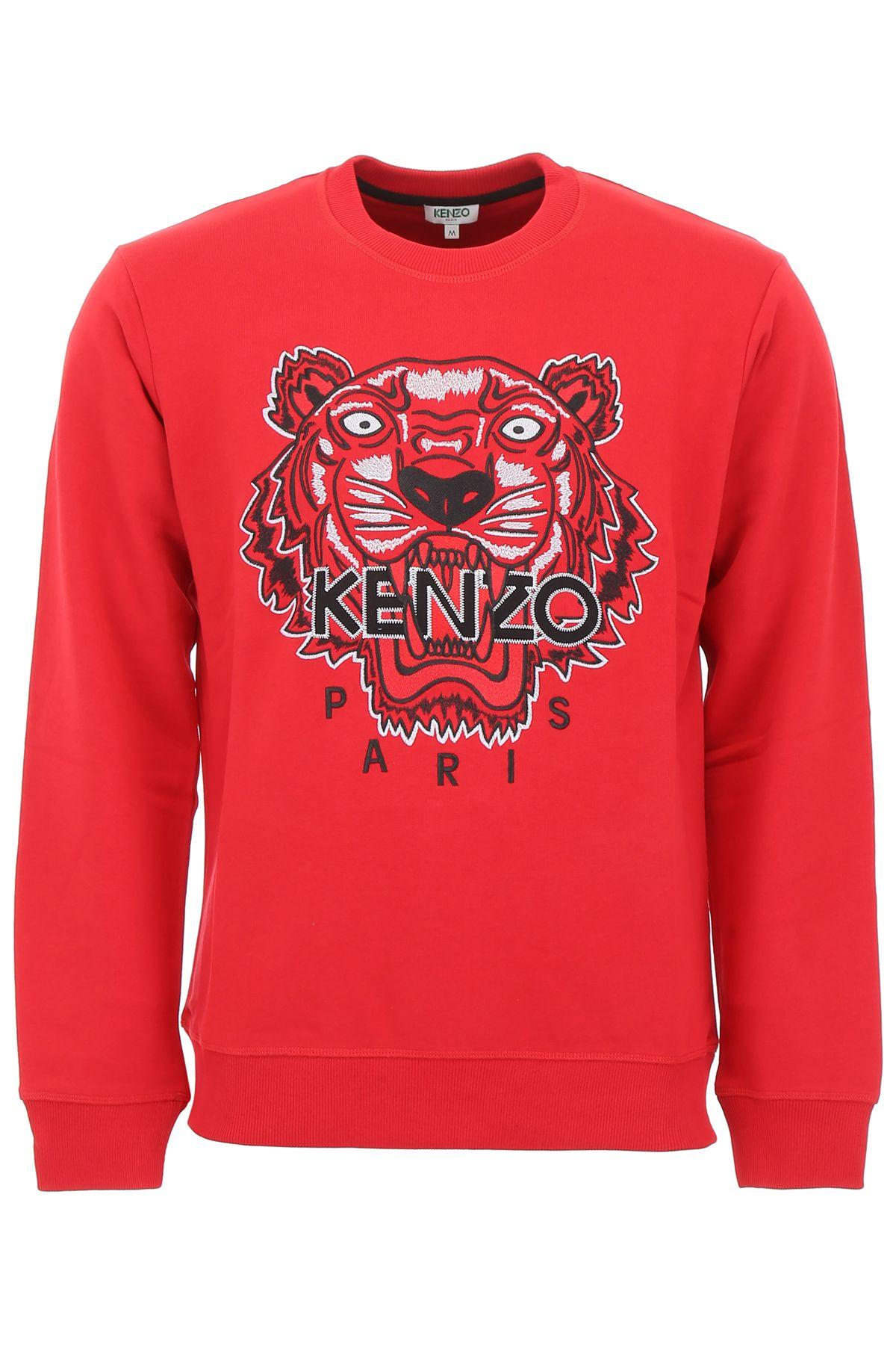 be946712 Kenzo Kenzo Tiger Sweatshirt - ROUGE MOYEN (Red) - 10961979 | italist