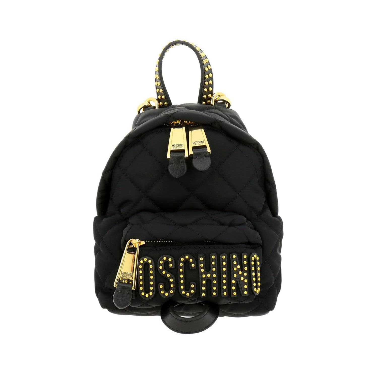 a6c955c9d5 Moschino Couture Backpack Shoulder Bag Women Moschino Couture - black ...