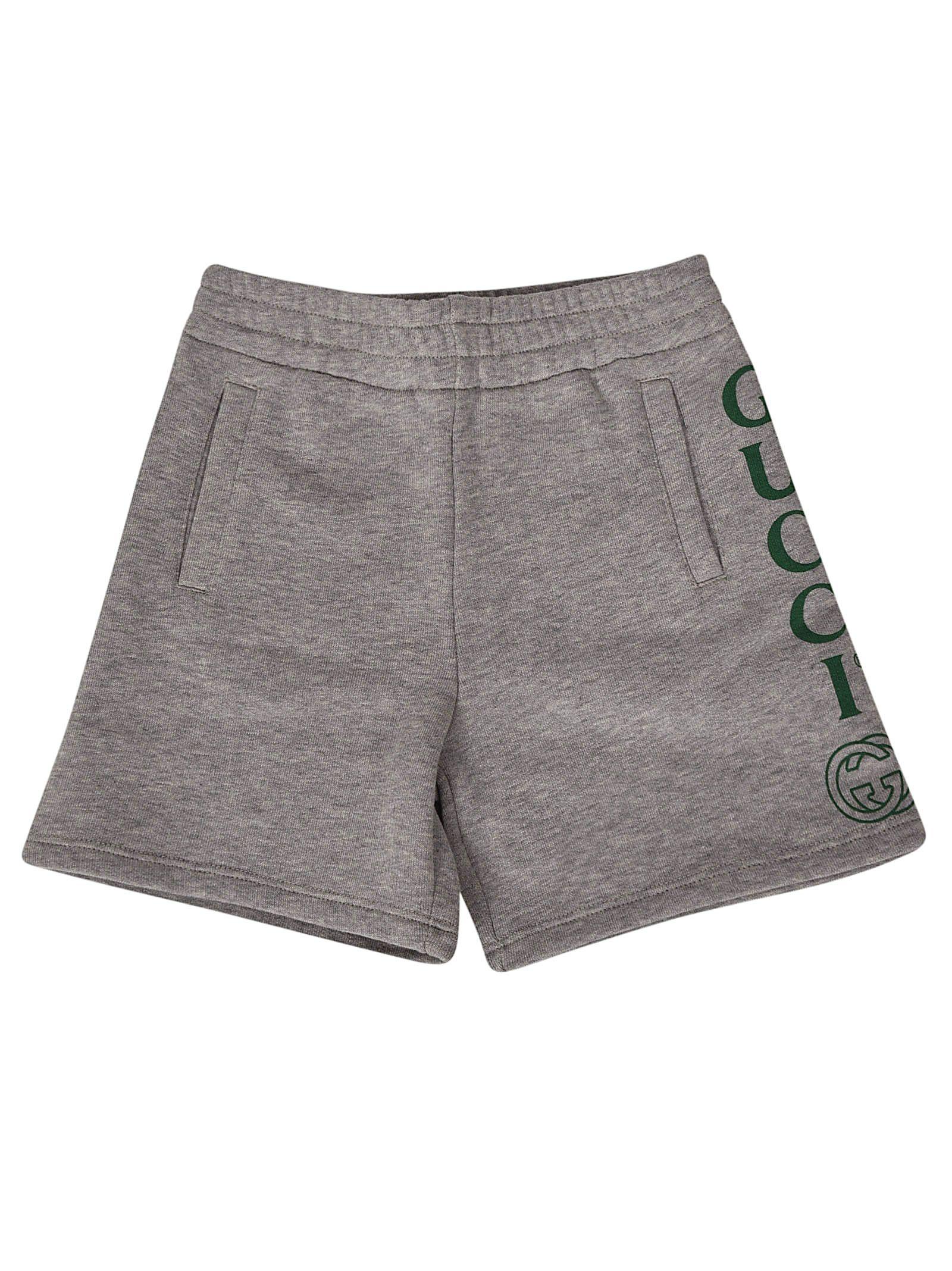 c0ae48164 Gucci Gucci Logo Shorts - Grey - 10913754   italist
