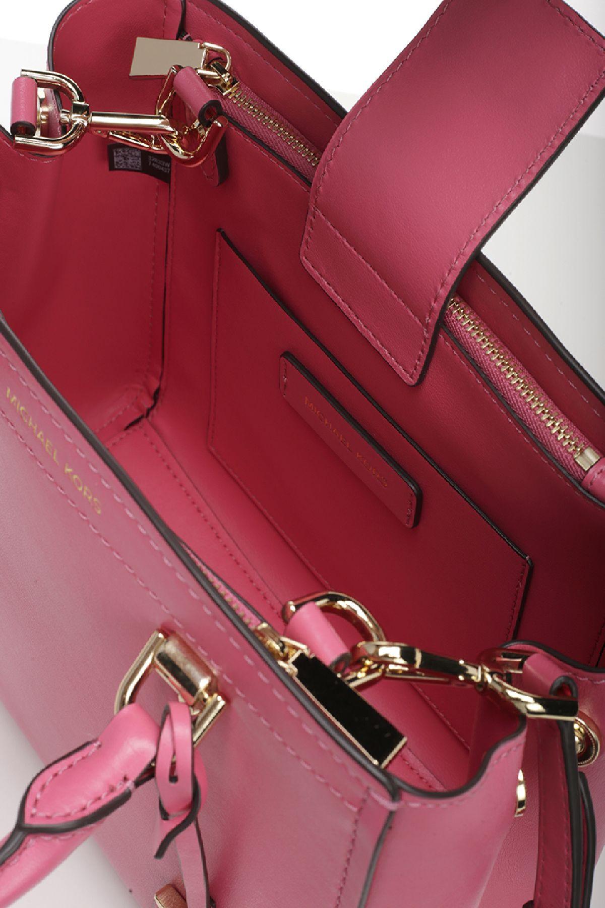 a1d6059c4 MICHAEL Michael Kors MICHAEL Michael Kors Leather Benning Bag - ROSE ...