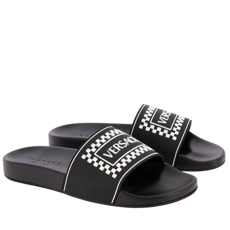 c0400e0dc Versace Versace Sandals Shoes Men Versace - black - 10783151